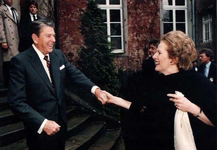 Reagan pidió a Tatcher negociar pacíficamente la situación de las islas. (Agencias)