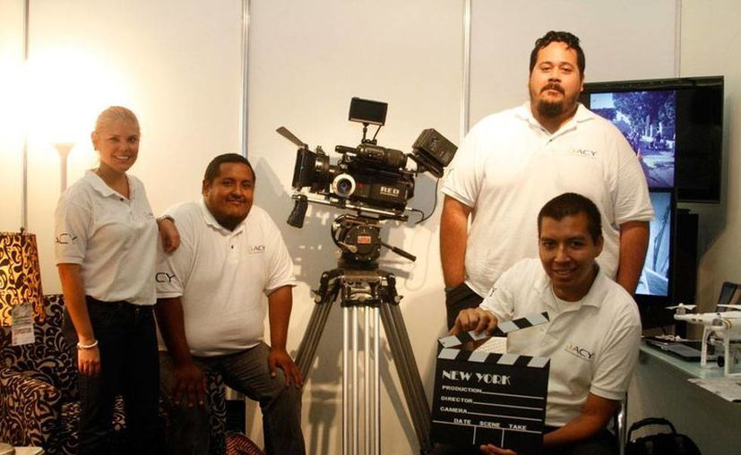 Jóvenes realizadores de la entidad buscan impulsar el séptimo arte en Yucatán. (SIPSE)