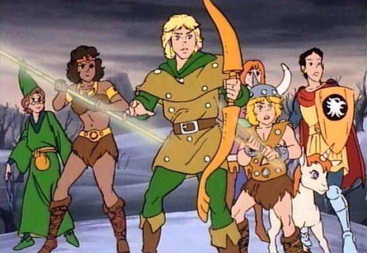 Warner dio luz verde a una nueva adaptación cinematográfica de 'Calabozos y Dragones', el conocido juego de rol y fantasía heroica creado a mediados de los años 70, la foto corresponde a la seria animada. (expreso.com.pe)