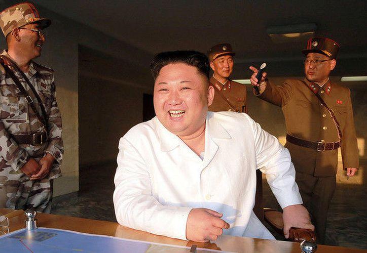 La exitosa prueba del misil balístico norcoreano Hwasong-12 fue efectuada la madrugada del pasado 14 de mayo.  (RT)