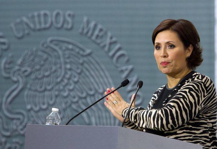 Rosario Robles, titular de Sedesol, asegura que el porcentaje de niños mexicanos con un peso más bajo de lo que se considera saludable, pasó de 10.8 por ciento a 2.8 por ciento.(Notimex)