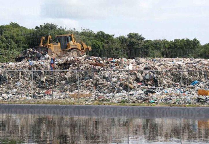 Urge un manejo adecuado de la basura para evitar la contaminación del manto freático. (Sara Cauich/SIPSE)