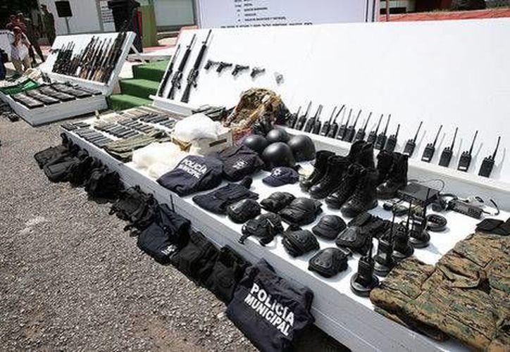 La Secretaría de la Defensa Nacional y la Secretaría de Marina emprendieron los operativos como parte de las acciones del gobierno federal para contrarrestar las actividades ilícitas del crimen organizado. (Gobierno de Sinaloa)