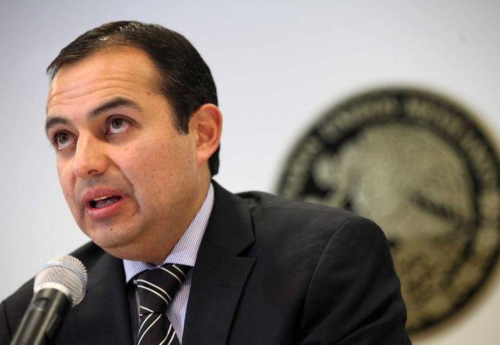 El coordinador de la bancada panista en el Senado, Ernesto Cordero, dice que sigue sin confiar en el Pacto por México. (Archivo/Notimex)