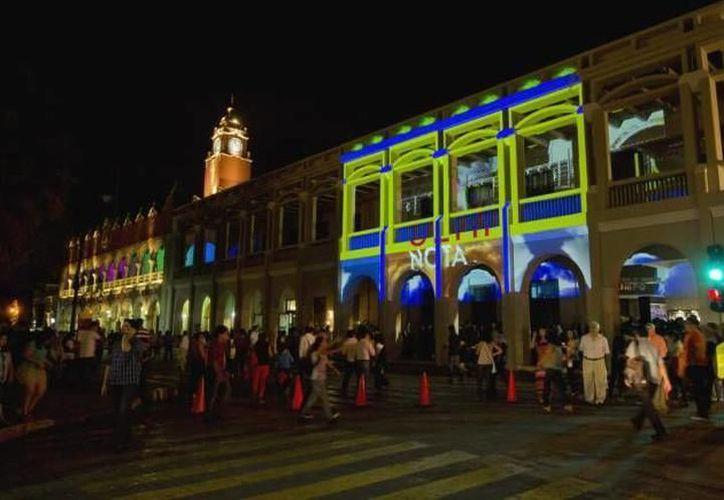 En la Noche Blanca en Mérida, y hay nuevos atractivos. Las emociones estará a flor de piel. (SIPSE/Archivo)