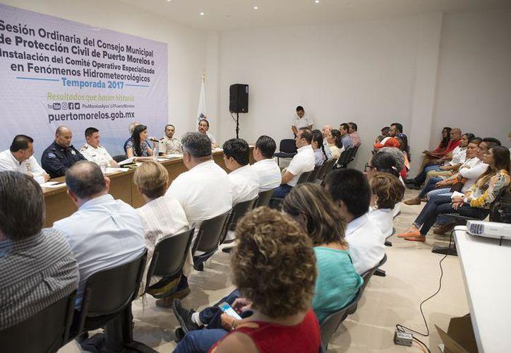 Instalan Comité Operativo Especializado en Fenómenos Hidrometeorológicos en el municipio. (Cortesía)