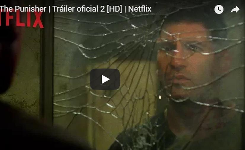 The Punisher tendrá su propia serie en Netflix. (Captura YouTube).