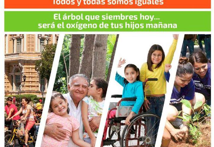 """Imagen del póster de la campaña """"Yo soy Mérida Blanca"""", que promueve el Ayuntamiento de Mérida. (merida.gob.mx)"""