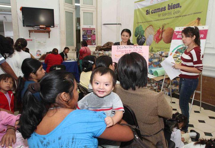 Durante 2013 el DIF Mérida realizó diversas acciones a favor de grupos en situación vulnerable. (Cortesía)