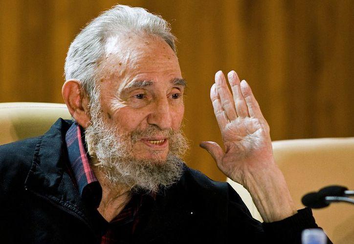 Castro, de 86 años, lucía cansado en sus últimas apariciones públicas. (Agencias)