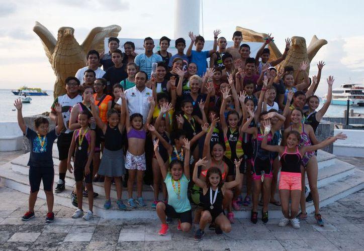 Participaron más de 70 niños y jóvenes en este primer evento. (Redacción)