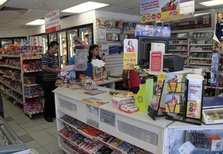 Las tiendas Oxxo podrán recepcionar los pagos. (Tomás Álvarez/SIPSE)