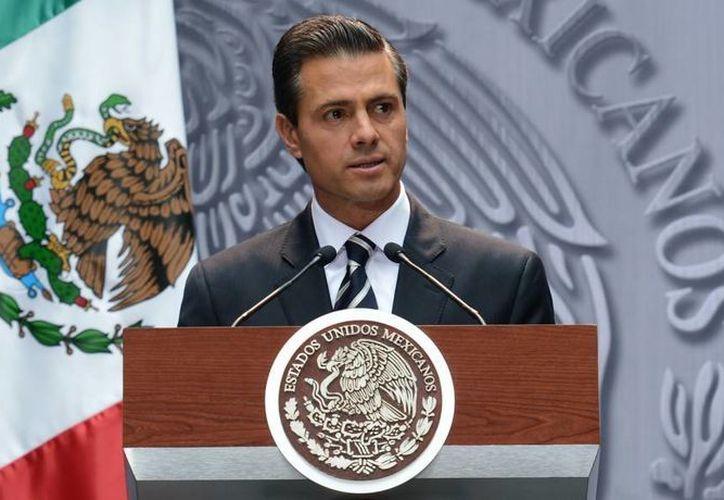 El presidente Enrique Peña declaró que el ataque contra normalistas en Guerrero 'empaña el esfuerzo colectivo y nacional para lograr que México sea un país de desarrollo'. (presidencia.gob.mx/Contexto)