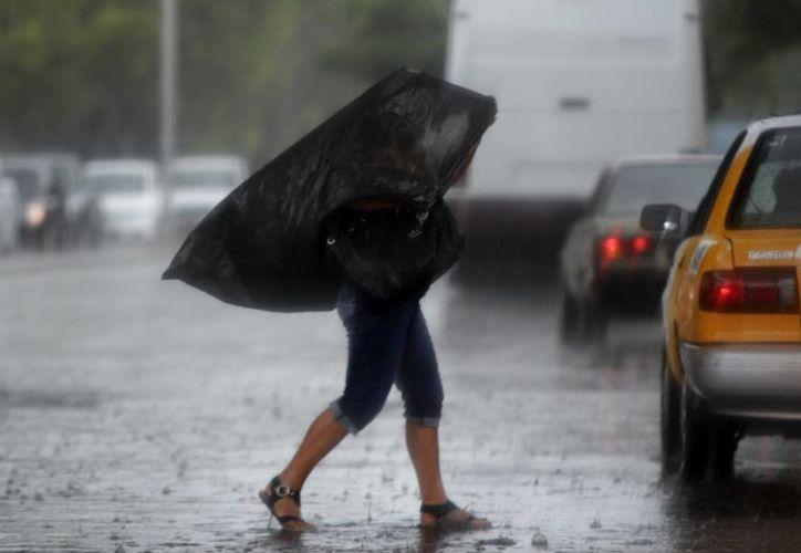El frente frío número 4 ocasionó lluvias en diversos puntos de Mérida. (Christian Ayala/SIPSE)
