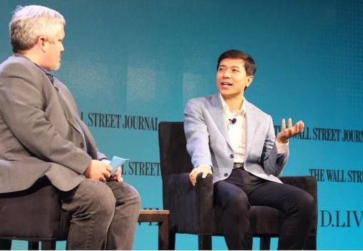 Baidu lanzará al mercado un autobús autónomo. (AFP).