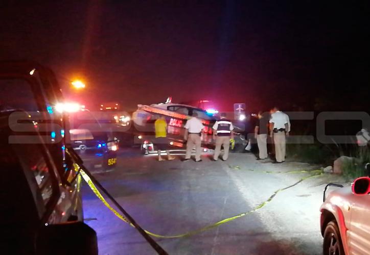 Los hechos ocurrieron a dos kilómetros de la avenida Huayacán. (Redacción/SIPSE)