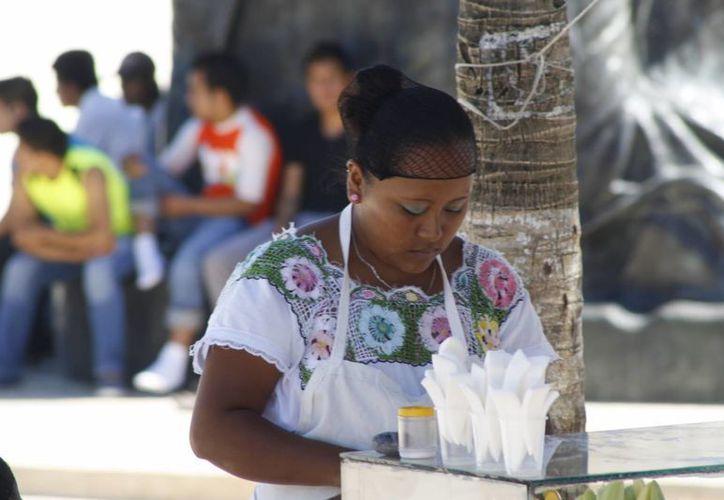 Además de la discriminación a la que se enfrentan en muchos ámbitos por ser mujeres, las féminas indígenas son minimizadas por prejuicios raciales.  (Octavio Martínez/SIPSE)