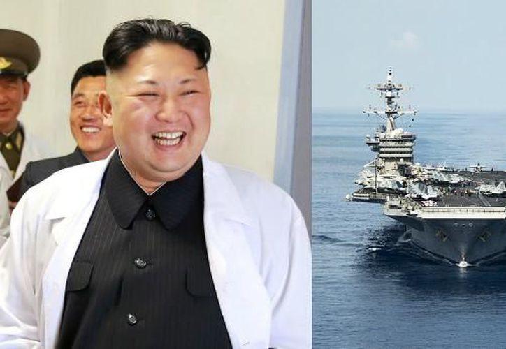 La Marina de Estados Unidos confirmó que el USS Carl Vinson se encuentra en el mar de Filipinas. (AFP).