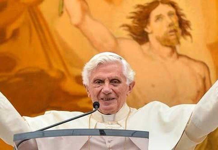 Benedicto XVI afirma que la sociedad está marcada por el hedonismo. (Archivo/Agencias)