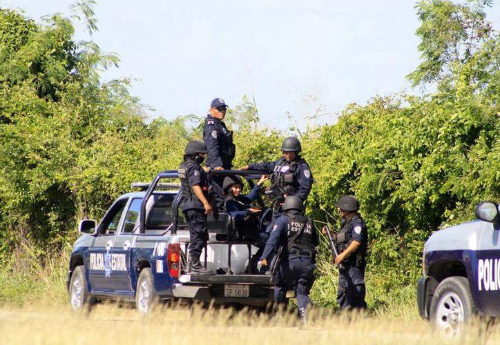 El Centro de Evaluación realiza exámenes de control y confianza a los elementos policíacos. (Harold Alcocer/SIPSE)