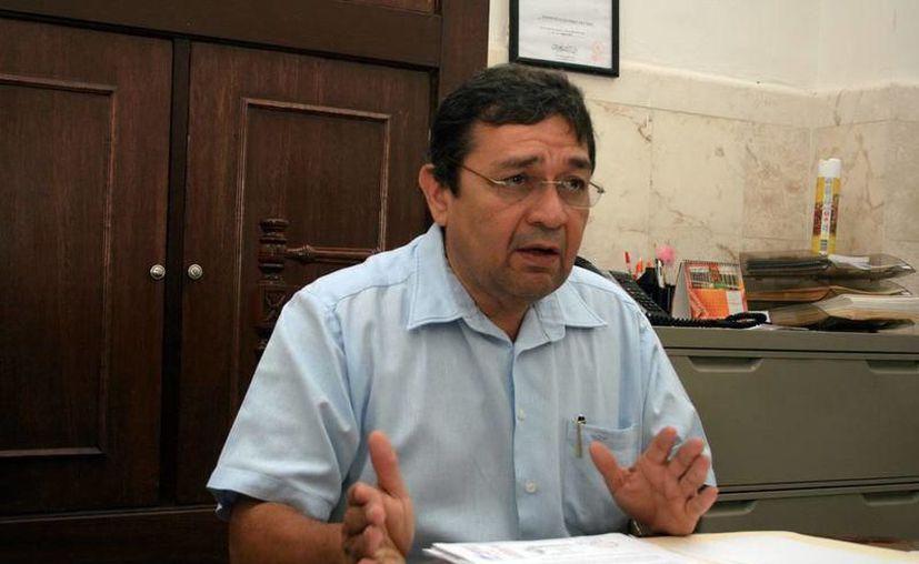 Fernando Bolio busca la reelección como magistrado del Tribunal Electoral del Estado. (Novedades Yucatán)