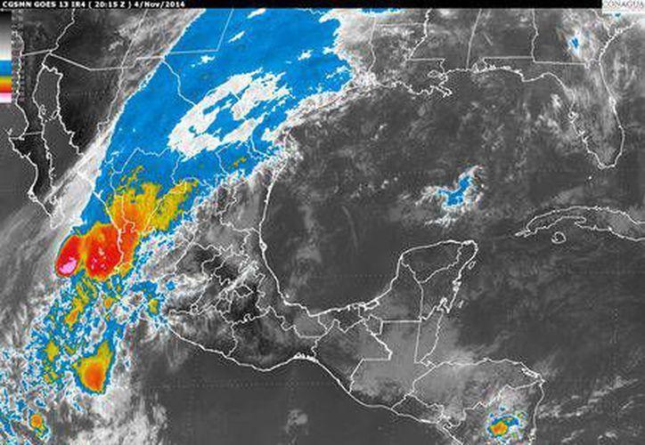 El SMN advirtió sobre bajas temperaturas en el norte de Chihuahua y Coahuila, así como vientos fuertes en esa zona del país. (conagua.gob.mx)
