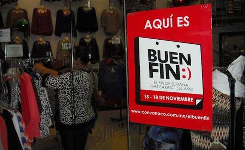 Autoridades y comerciantes esperan aumentar a 200 millones  las ventas de el Buen Fin 2014. (Ricardo Hernández/Milenio)