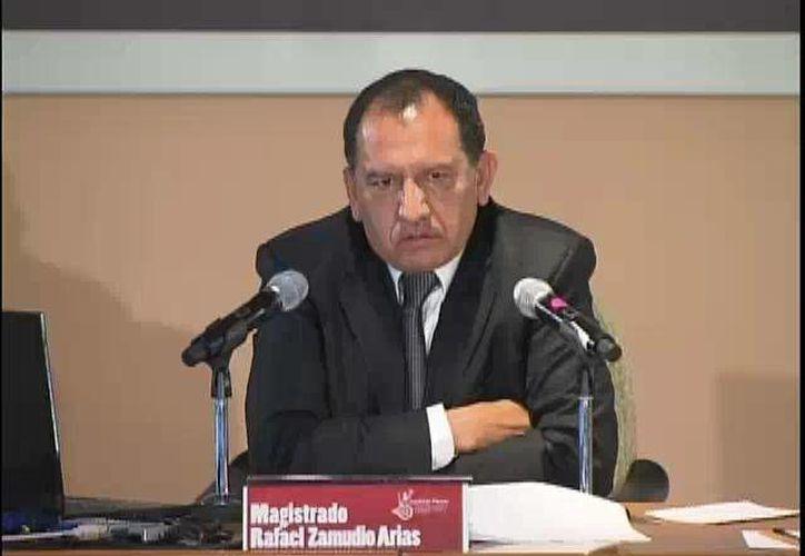 El ministro federal Rafael Zamudio Arias no solo es investigado por acoso sexual sino también por enriquecimiento ilícito. (sitios.scjn.gob.mx)