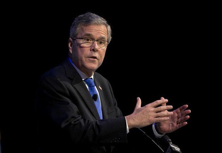 Entre los republicanos, la posible nominación presidencial de Jeb Bush ha causado diferencias. (Archivo/AP)