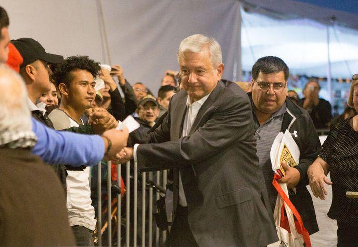El líder de Morena indicó de manera tajante que si no consigue la Presidencia en 2018, no volverá a ser candidato de nada. (Foto: Vanguardia)