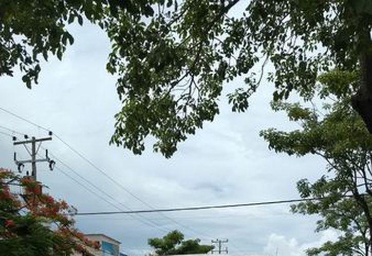 Vehículo que atropelló a Rogelio N, en el cruce de avenida Bonampak con Chichén.(SIPSE)