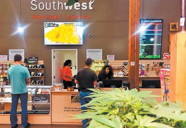 El dispensario de marihuana se ubica en el bulevar San Ysidro. (Contexto/Internet)