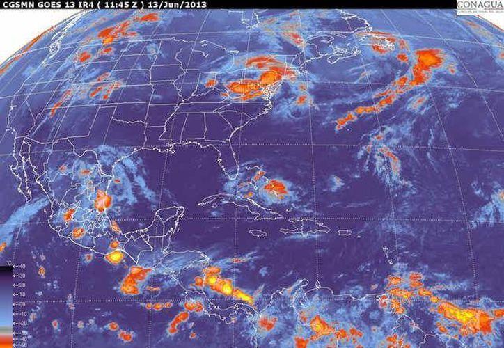 Soplarán vientos del este y noreste de 20 a 40 km/h con rachas de 55 km/h. (smn.cna.gob.mx)