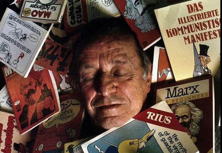Cientos de libros bajo el pseudónimo de Rius fueron publicados por Eduardo del Río hasta su muerte, en agosto de este año. (Contexto/Internet)