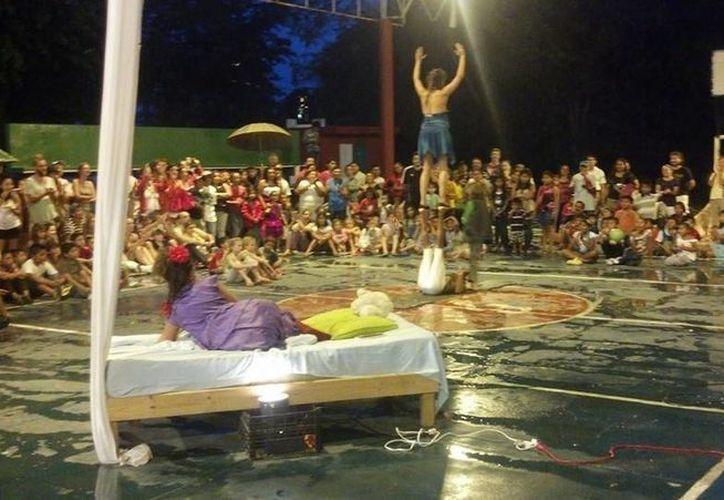 Imagine Circo llevará alegría y diversión a cientos de familias en Puerto Morelos. (Redacción/SIPSE)