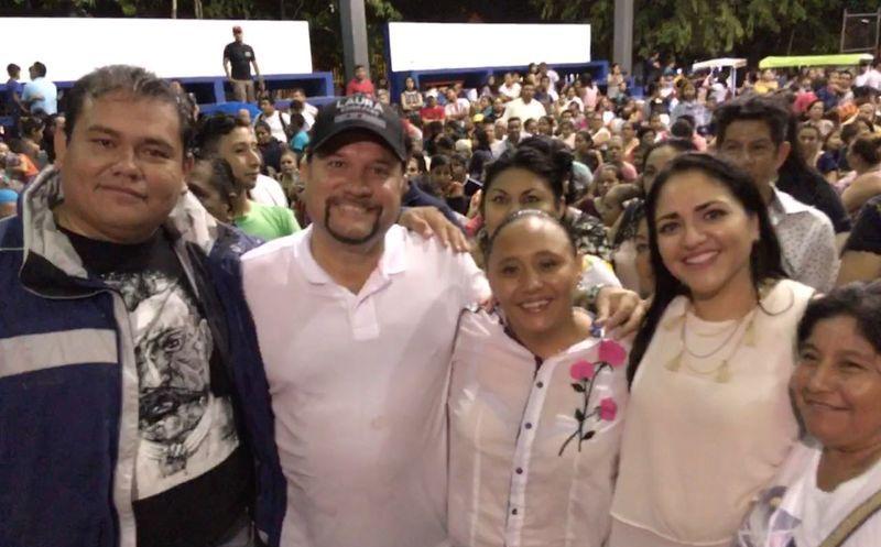 Varias organizaciones de la sociedad civil y sindicatos han refrendado su apoyo a Cristina Torres. (Redacción)
