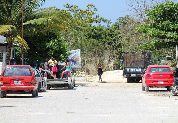 Pese a las denuncias de los ejidatarios ha crecido el número de habitantes en la zona. (Octavio Martínez/SIPSE)