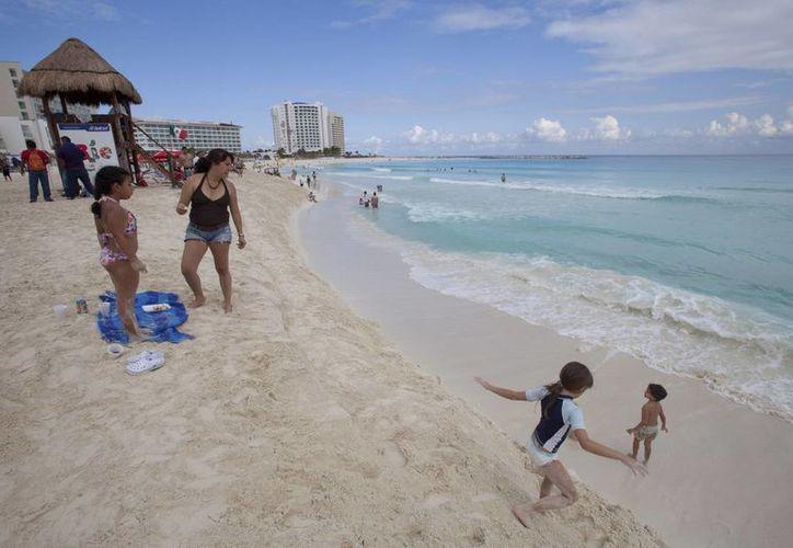 En los 70 principales destinos turísticos del país, se registró un crecimiento de 6.3 por ciento. (Notimex)