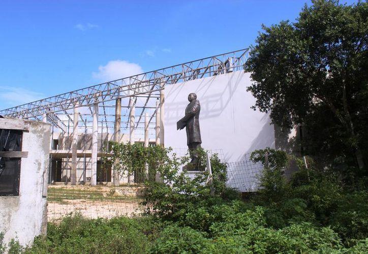 La historia de la construcción del nuevo palacio municipal comenzó desde el 2012. (Octavio Martínez/ SIPSE)