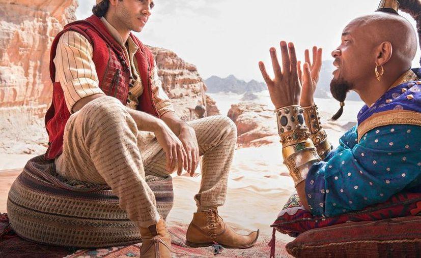 La puesta en escena de 'Aladdin' corre a cargo de Guy Ritchie. (Entertainment Weekly)