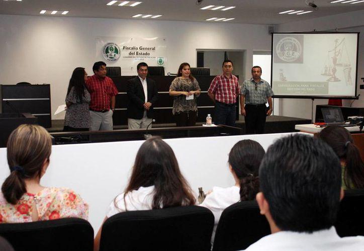 La fiscal Celia Rivas puso en marcha estas prácticas. (FGE)