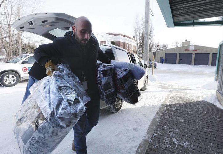 Llegar a Canadá en esta temporada supone un grave riesgo para la vida de los indocumentados. (John Woods/The Canadian Press)