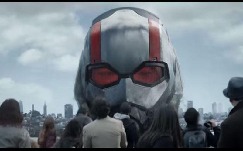 Marvel lanza primer tráiler de 'Ant-Man and the Wasp'