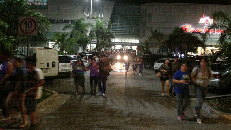 Reportan balacera en Gran Plaza de Cancún