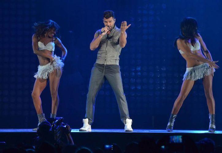 Ricky Martin comenzará en Veracruz en noviembre su gira de conciertos en México. (Notimex)