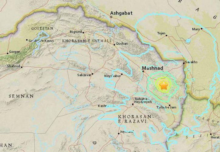 El Servicio Geológico de Estados Unidos dijo que el sismo tuvo una magnitud de 6.1. (López Dóriga Digital)