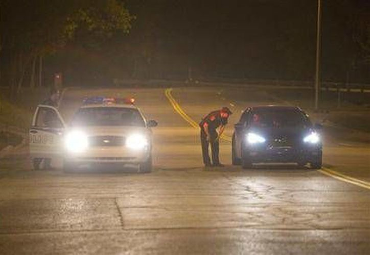 Elementos policíacos realizan una búsqueda exhaustiva en Quebec y sus alrededores.(Foto: The Associated Press)