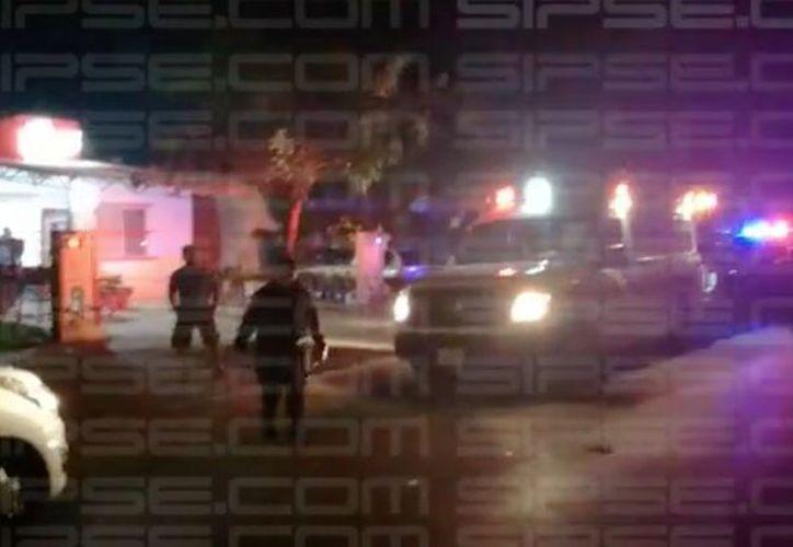 Las personas baleadas en la Región 256 se encontraban al interior de una tienda de conveniencia. (SIPSE)