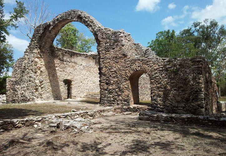 Oxtankah han presentado un incremento en su relevancia histórica para el turismo local. (Ernesto Neveu/SIPSE)