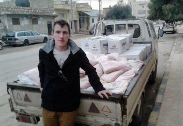 Foto de Petter Kassig, proporcionada por su familia. El exsoldado de EU fue ultimado el domingo por el Estado Islámico. (AP/Cortesía familia Kassig)